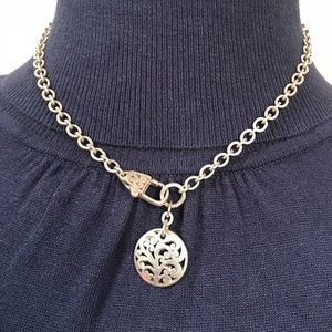 Lois Hill 925 Sterling Silver Necklace